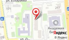Апартаменты AHome 76 на Хусаинова на карте