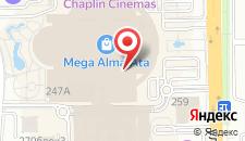 Апартаменты АренА Каблукова 264, 20 этаж на карте