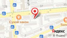 Апартаменты На Саптаева 30 на карте