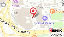 Отель Рахат Палас Отель на карте