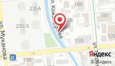 Хостел Есентай на карте