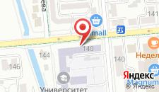 Апартаменты Муратбаев 232 на карте