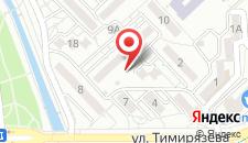 Апартаменты На Темирязива на карте