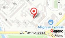 Апартаменты AKV на Тимирязева, 1 на карте