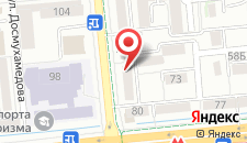 Апартаменты Надежда на Байтурсынова 78б на карте