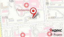 Апартаменты Надежда на Казыбека на карте