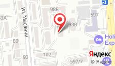 Апартаменты На Масанчи на карте