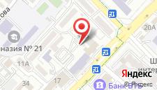 Отель Академик на карте
