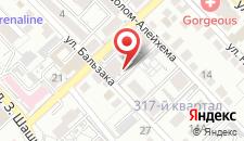 Апартаменты Шашкина-Попова в ЖК Квартал на карте