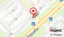 Апартаменты на Шашкина 11 на карте