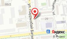 Апартаменты на Наурызбай Батыра 63 на карте