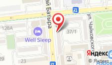 Апартаменты на Наурызбай Батыра 68 на карте