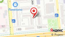 Апартаменты AHome 52 на Сейфуллина/Шевченко на карте