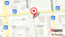 Хостел Алматы Центральный на карте
