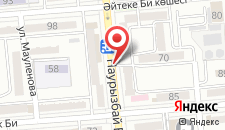 Апартаменты Наурызбай батыра на карте