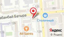Апартаменты на Кабандай Батыра 122 на карте