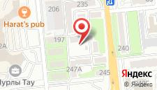 Апартаменты Фурманова 235В на карте