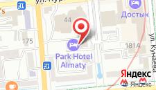 Отель Worldhotel Saltanat на карте