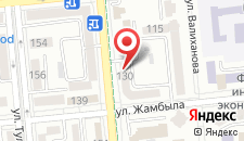 Апартаменты Джамбула 31 на карте