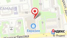 Хостел Димал Алматы на карте