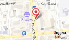 Апартаменты На Улице Достык на карте
