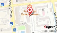 Апартаменты Золотой Квадрат на карте