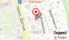 Апартаменты KV727 на карте
