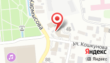 Гостиница Алма на карте