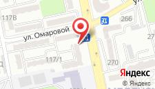 Апартаменты AHome 31 на проспекте Достык на карте