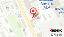 Отель Аксункар на карте