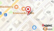 Апартаменты на Уранхаева на карте