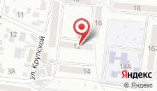 Хостел Амиго на карте