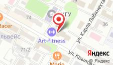 Апартаменты Крылова на карте