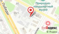 Отель Ainaline на карте
