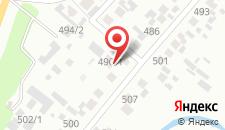 Хостел Тулка на карте