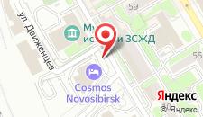 Гостиница Park Inn by Radisson Novosibirsk на карте