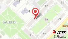 Гостиница Зона Сна на Маркса на карте