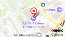 Отель АЗИМУТ Отель Сибирь на карте