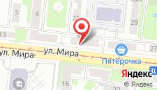 Хостел Абажур на карте