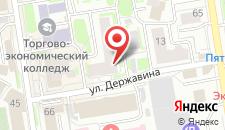 Гостиница Juicy на карте