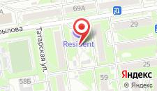 Апарт-отель Resident на карте