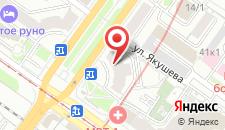 Хостел Стоп-Хаус на карте