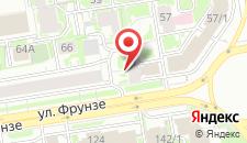 Хостел Б-СТАРТ на карте