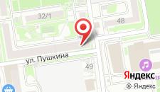 Хостел Алексия на карте