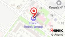 Отель Romano House на карте