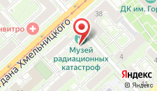 Отель Электрон на карте
