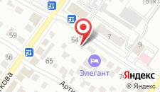 Отель Пихта Хаус на карте