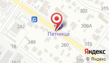 Отель Пятница на карте