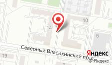 Апартаменты На Северном Власихинском на карте