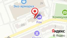 Отель ФОКС на карте